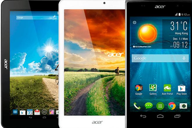 IFA 2014: Acer renueva sus tablets y móviles