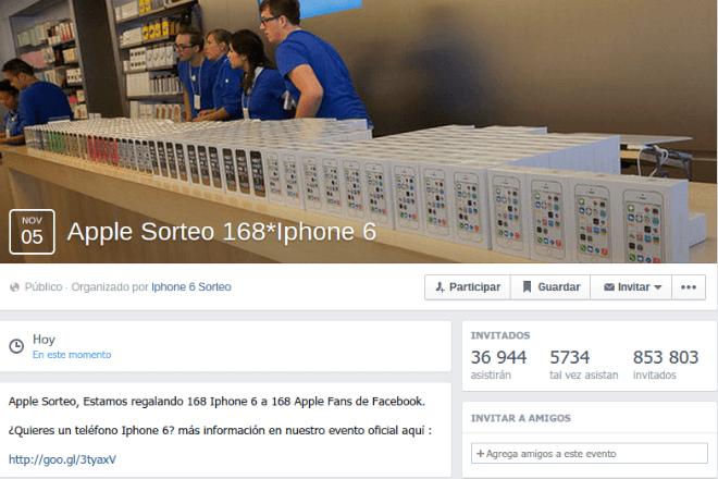 Eventos en Facebook, la nueva herramienta de los timadores