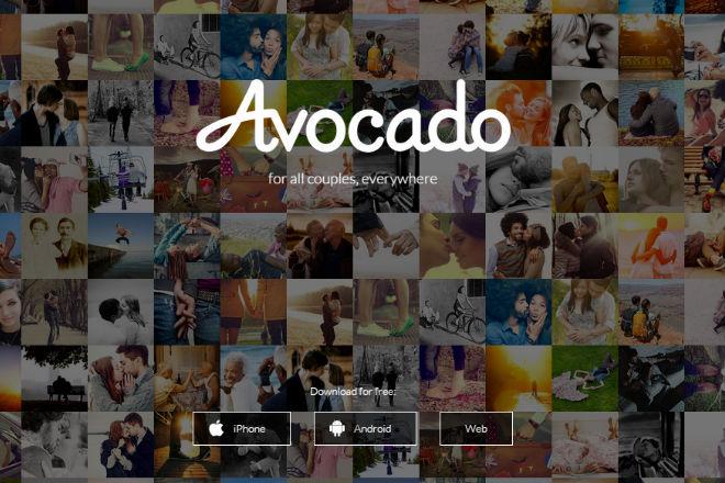 Avocado app san valentín