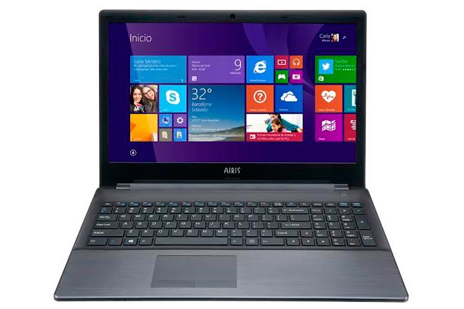 Notebook AIRIS PRAXIS N1205 garantiza funcionalidad y potencia