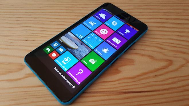 Lumia 640 XL pantalla