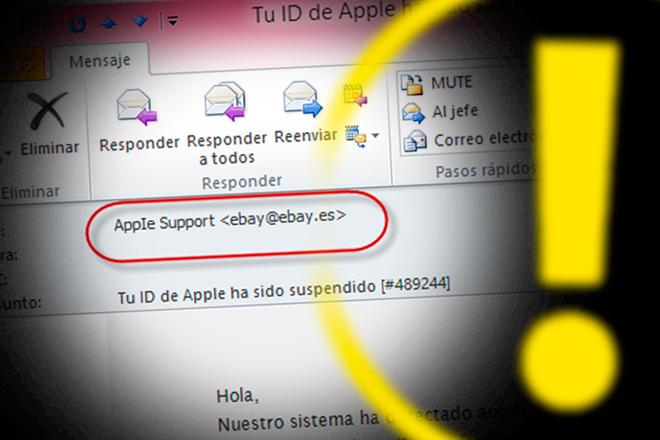 Así es el nuevo ataque de phishing a usuarios de Apple ID