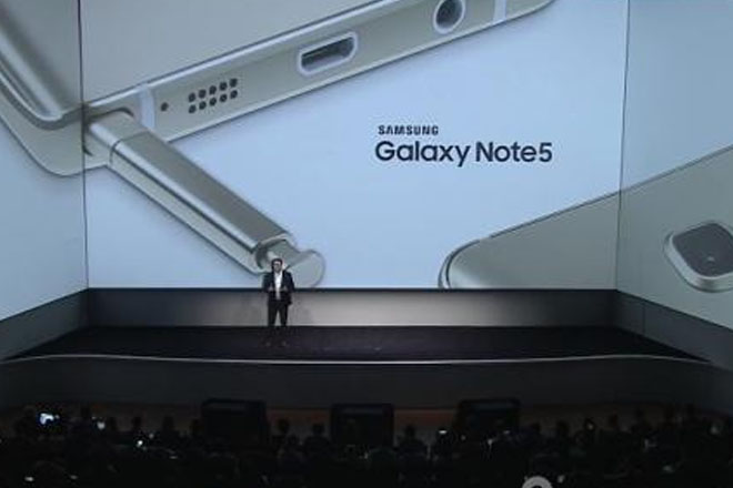 Galaxy Note 5 presentación