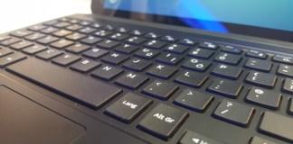 La funda teclado de la Samsung Galaxy Tab S2 se comenzará a vender en España a partir del mes de octubre por un precio de 170 euros para la versión de 9,7 pulgadas