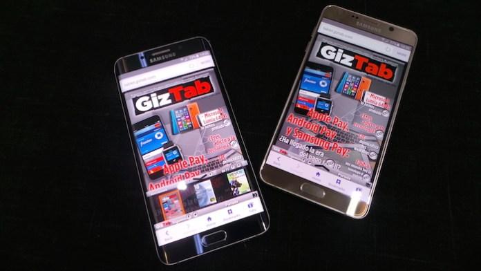 Samsung Galaxy Note 5 y Galaxy S6 Edge Plus analisis