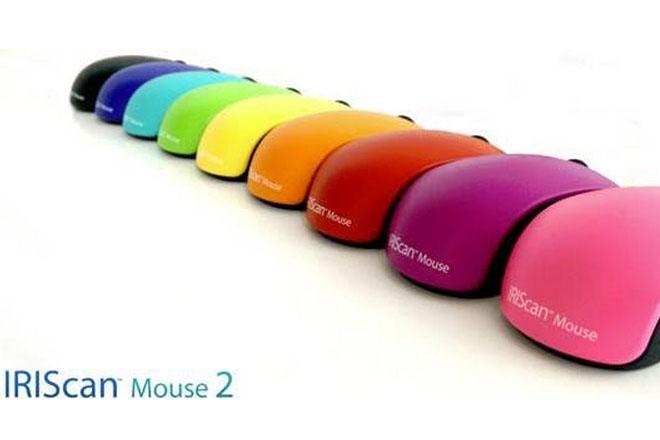 El ratón-escáner multicolor se pone a la moda (IRIScan Mouse 2)