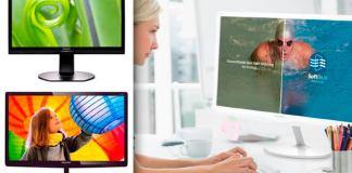 Nuevos monitores Full HD de Philips vienen con SoftBlue y altavoces