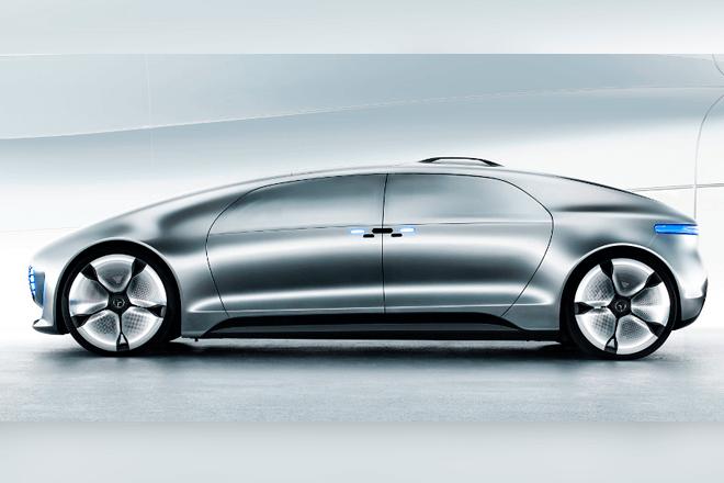 El coche autónomo de Mercedes-Benz podrá controlarse con una aplicación