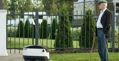 Nuevo robot repartidor basado en tecnología aeroespacial