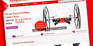 Tienda Online de Accesorios de Vodafone ya disponible para todos y con ofertas de Black Friday