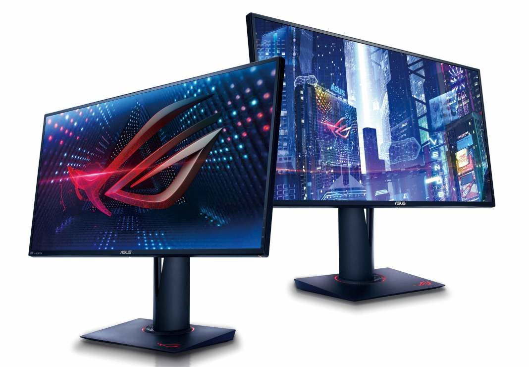 ASUS lanza al mercado sus nuevos monitores dedicados al gaming