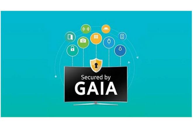 Samsung GAIA solución de seguridad para la línea Smart TV 2016