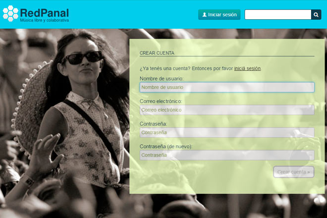 registrarse-pantallazo-red-panal-musica-libre-matias-lennie-bruno-links-video-imagenes
