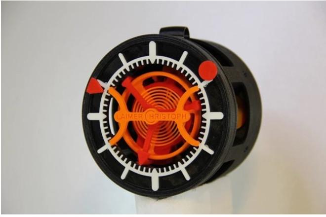 Impresión 3D: Así es el primer reloj del mundo impreso en 3D