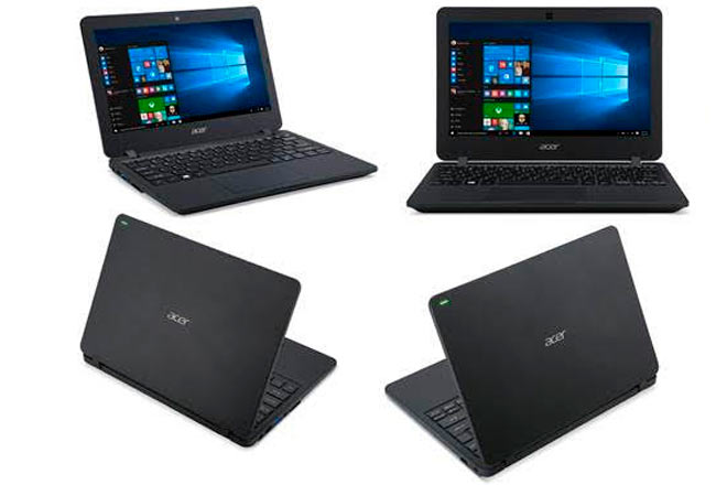 Acer TravelMate B117 will be available in Spain and Portugal at the end of the first half of the year.