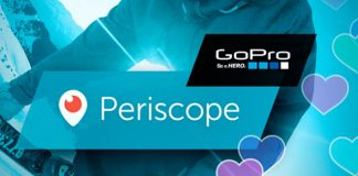 Transmitir desde una GoPro a Periscope es un hecho …y te decimos cómo hacerlo