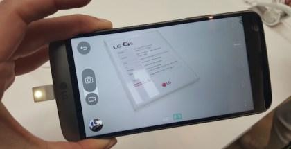 La cámara del LG G5 no cambió mucho respecto a la cámara del LG G4