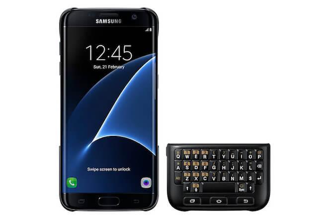 Accesorio Funda teclado para el Samsung Galaxy S7 Edge