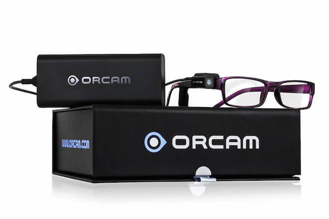 orcam gafas para leer en voz alta