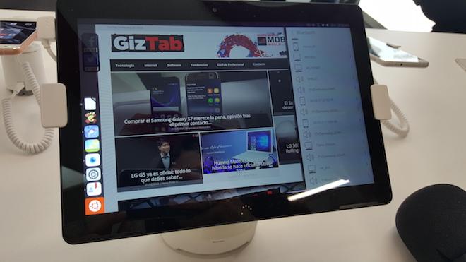 tablet con ubuntu bq