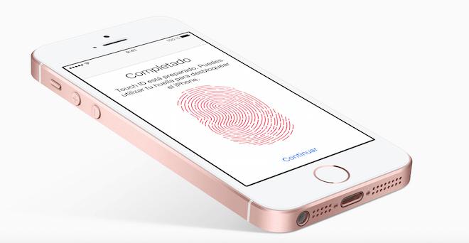 el iphone SE tiene lector de huellas dactilares o digitales y será compatible con Apple Pay