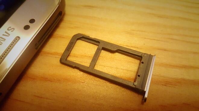 Samsung Galaxy S7 Edge ranura microSD SIM