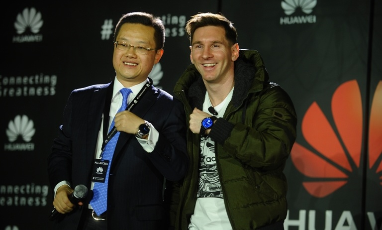 Huawei ficha a Messi