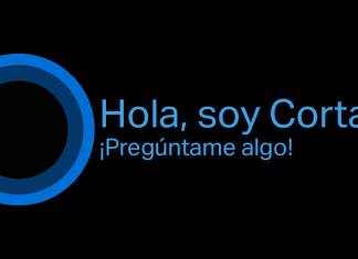 Cortana traduce español