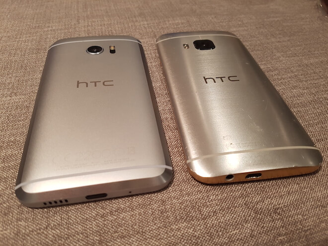 HTC 10 Vs HTC One M9 comparativa