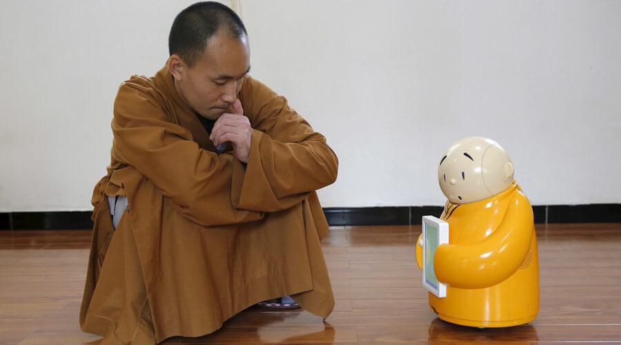 Robot budista Xian ´er