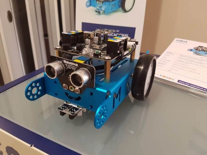 Robots educativos de SPC vienen en varios modelos