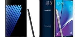Galaxy Note 7 Vs. Note 5