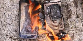 Galaxy Note 7 explota