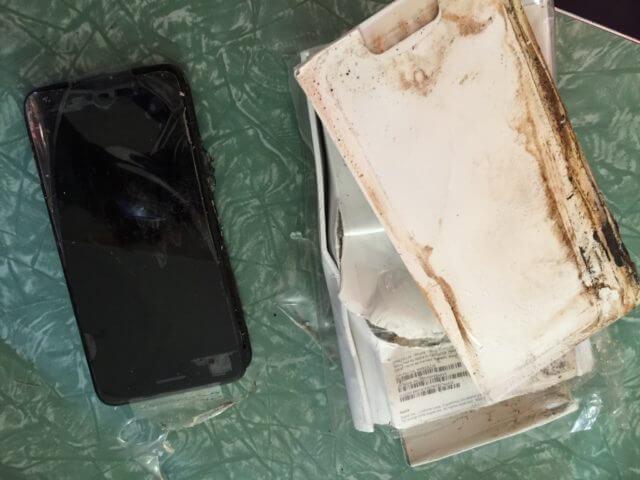 iPhone 7 de AT&T explota
