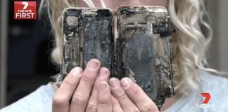 iPhone 7 explota en Australia
