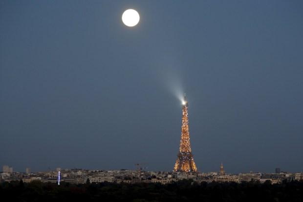 Superluna en París