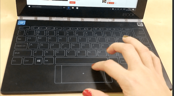lenovo-yoga-book-opiniones-teclado-windows