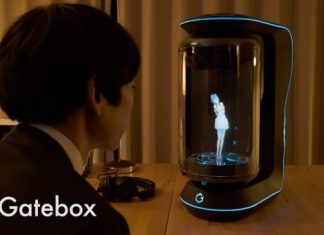Novias virtuales Gatebox