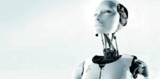 foto de robot humanoide blanco