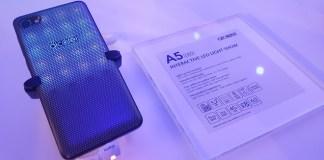 alcatel a5 led carcasa luz