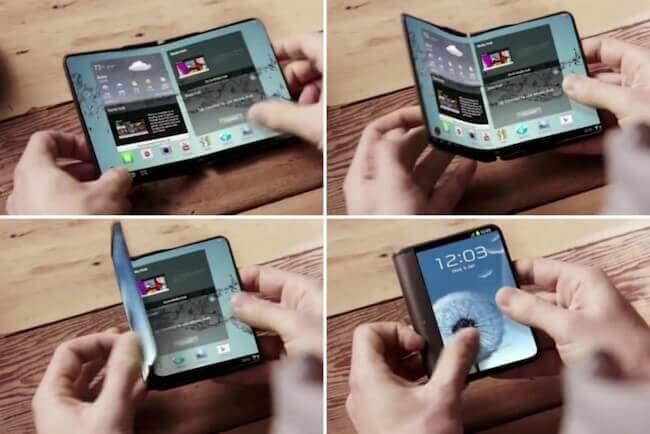 Móvil plegable de Samsung