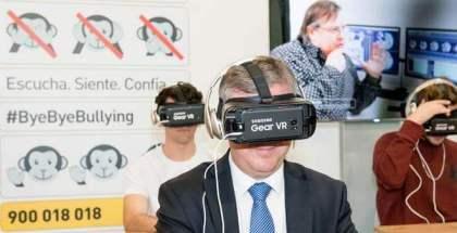 Realidad virtual de Samsung en la educación