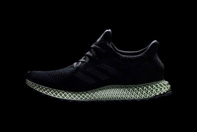 Adidas Futurecraft 4D primer zapato impreso en 3D