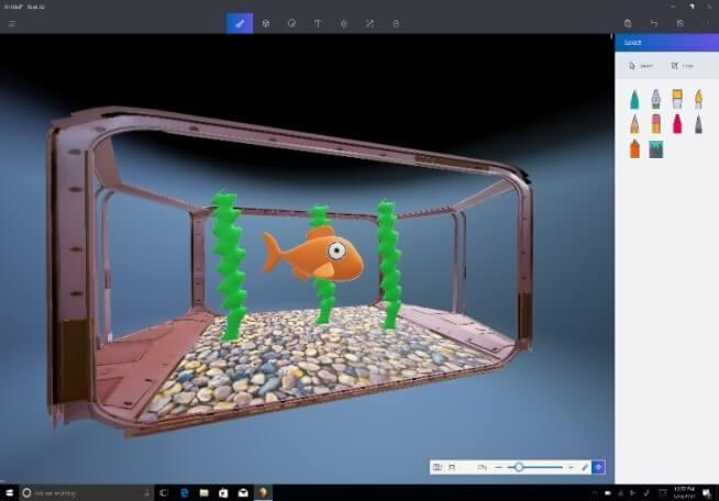 Paint se refuerza con la tecnología 3D