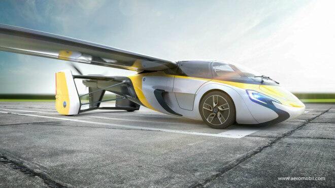 AeroMobil: El primer coche volador llegará este año