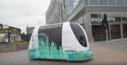 Inician pruebas de servicio de transporte sin conductor en Londres