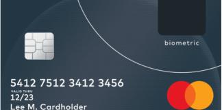 Esta tarjeta de MasterCard funciona con tu huella digital