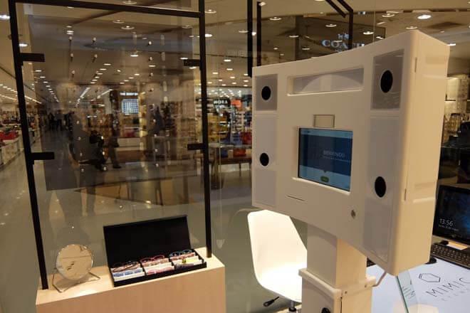 Así funciona el scanner para hacer gafas a medida impresas en 3D