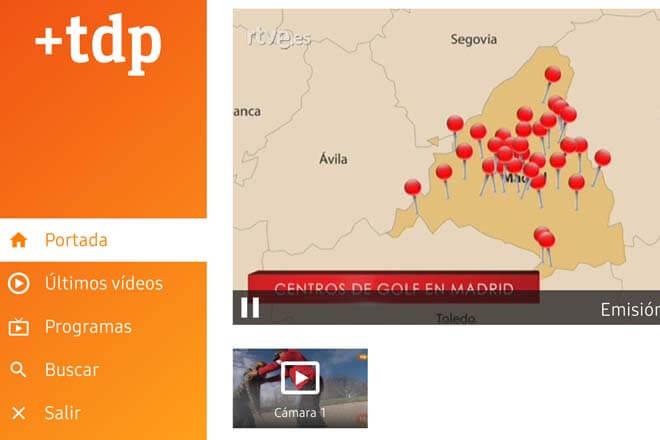 Nueva app de Teledeporte para los Samsung Smart TV