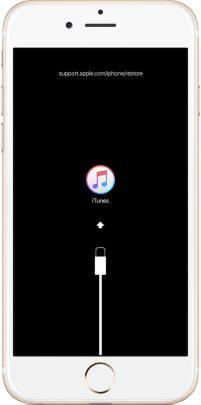 Desbloquear un iPhone con el modo de restauración